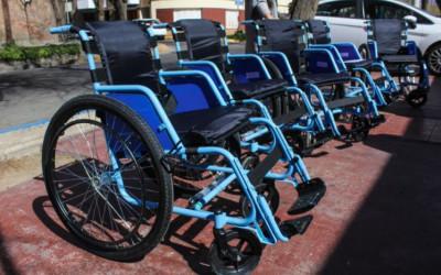 Entrega de elementos ortopédicos en La Paz