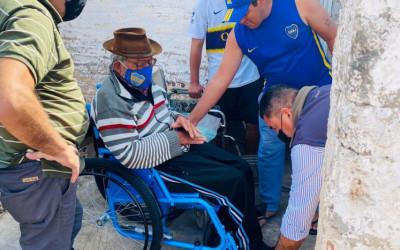 Corrientes: CILSA entregó 70 sillas de ruedas junto a Nito Artaza