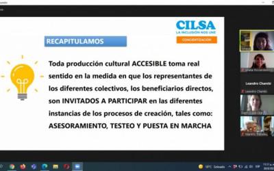 Prácticas sobre accesibilidad cultural