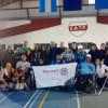 El equipo de Rugby sobre silla de ruedas visitó San Justo