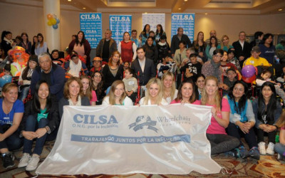 CILSA junto a Wheelchair Foundation entregaron 147 sillas de ruedas en Buenos Aires y Misiones
