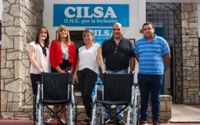 CILSA y Fundación Grupo América entregaron dos sillas de ruedas
