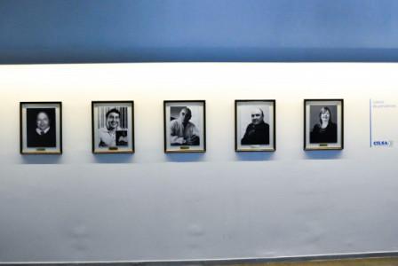Se inauguró la galería de presidentes