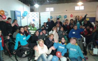 Entrega de sillas de ruedas en la Villa 1-11-14