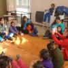 Aportes de voluntarios en el Hogar Sol y Sierra
