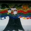 Mural en el Hogar Villa Albertina