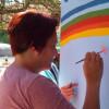 Mural inclusivo en la Escuela Blanca Estela Feit