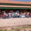 Entrega de elementos en el Museo Ferroviario de Godoy Cruz