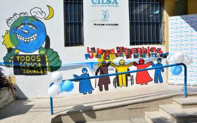 Inauguración de un Mural Inclusivo en el Colegio San José
