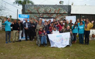 Entrega de elementos ortopédicos en el Centro de Rehabilitación Julián Baquero