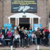 Entrega de elementos ortopédicos en el centro de ex soldados de Malvinas