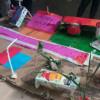 Hogar San Vicente: registro fotográfico en una plaza