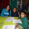Talleres en el Polideportivo sobre el derecho a la educación
