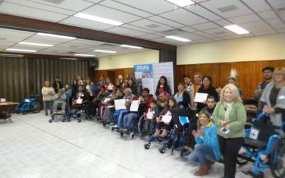 Se entregaron 19 elementos ortopédicos en Mendoza