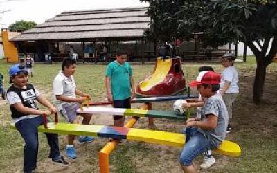 Salida recreativa de los niños de Alto Verde