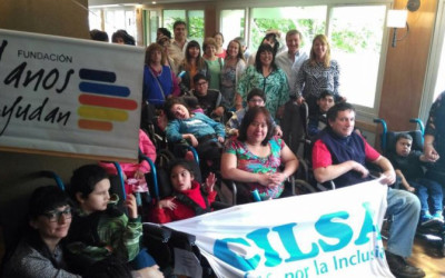 Por primera vez, CILSA entregó sillas de ruedas en Río Negro