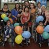 80 beneficiarios recibieron sillas de ruedas en la Universidad Nacional de la Matanza