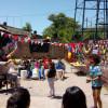 Festejo y muestra en el hogar Calzada
