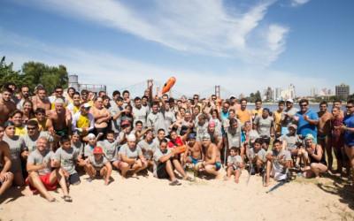 Más de 100 participantes formaron parte del 2° Cruce de la Laguna