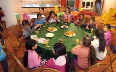 Almuerzo y juegos en el Hotel Sheraton