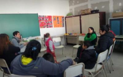 Encuentro de familias en Cárcova