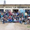 Entrega solidaria en la Vecinal La Esmeralda