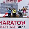 Alejandro Fernández en el Maratón de Buenos Aires