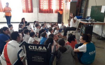Encuentro inclusivo en el Jardín San Pablo