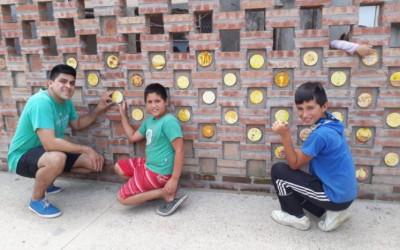 Tejuelas restauradas en Alto Verde