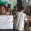 Mochilas para los niños de San Vicente