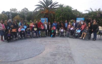 12 usuarios recibieron sillas de ruedas en forma gratuita