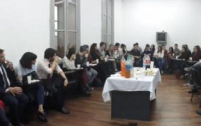 Charla en la Universidad Nacional de Rosario