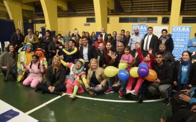 Entrega solidaria en Boca Juniors