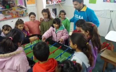 Proyecto Copa América con el Hogar Ringuelet