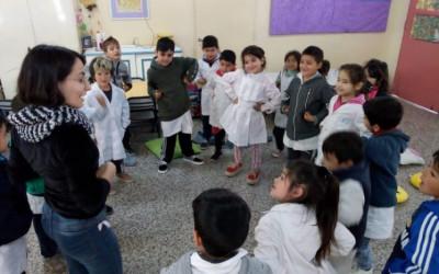 Acciones de concientización en la Escuela Rullán