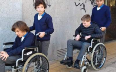 Jóvenes del Colegio Learning dialogan sobre discapacidad