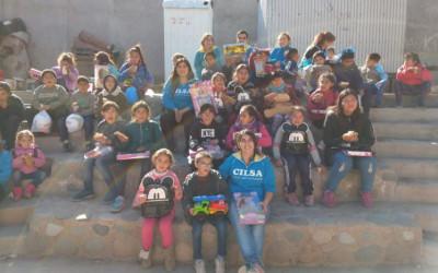 En Sol y Sierra se celebró con los niños
