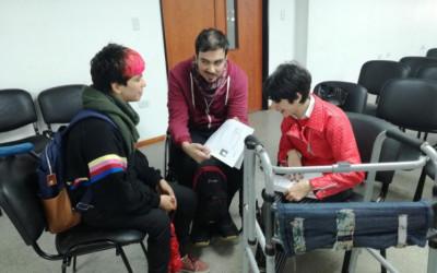 La Plata: Encuentro con becarios