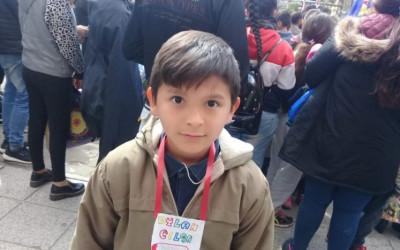 Los niños de Autódromo en el festejo de CEFIL