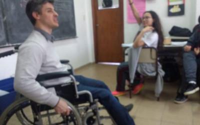 Participación del Colegio Luis Borges en actividades de concientización