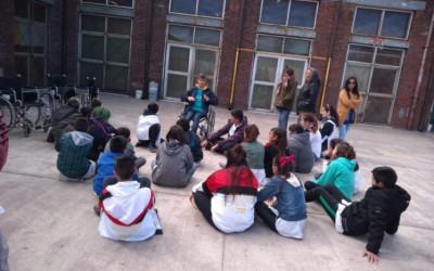 Primer encuentro de concientización con la escuela Juan Alberdi