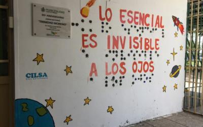 Mural en Macro Braille