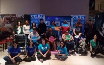 Entrega de elementos en el Día Internacional de la Discapacidad