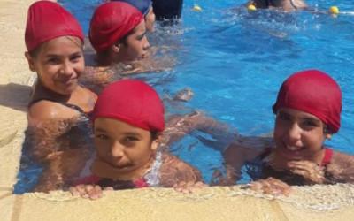 Muestra de natación
