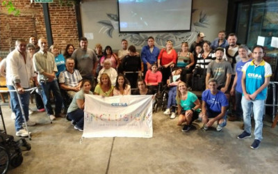 Primera entrega inclusiva en Mar del Plata