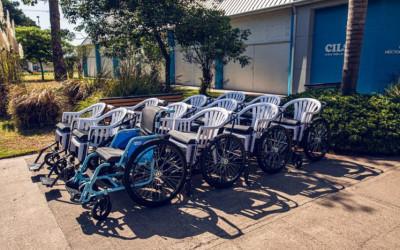 29 santafesinos recibieron sillas de ruedas