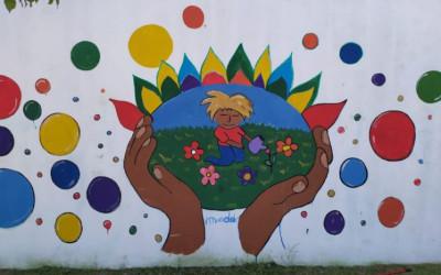 Primer mural inclusivo en el Instituto Superior Jerárquicos