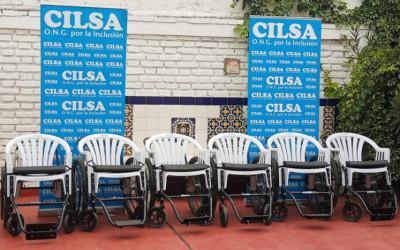 Mendoza: se entregaron sillas de ruedas de traslado