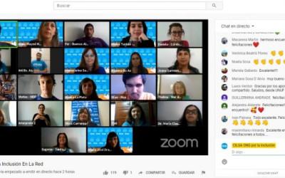La red de redes cobijó el Encuentro por la Inclusión 2020