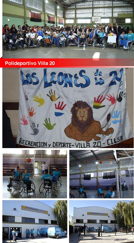 Escuela de iniciación deportiva Polideportivo Villa 20